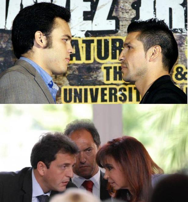 Julio Cesar Chavez Jr., Sergio Martinez