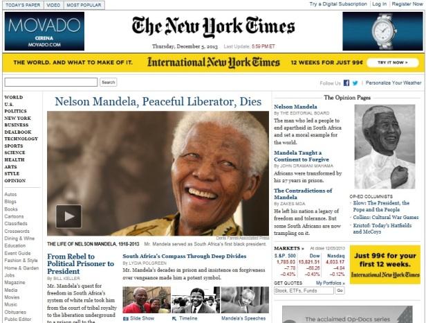 Mandela NYT