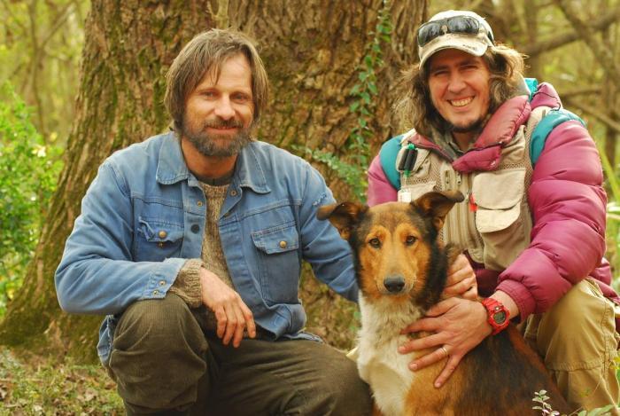 """Vigo, Gaucho y Pampita en la película """"Todos tenemos un plan"""""""