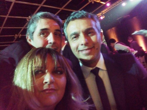 #Nardez!!! #Selfie con la gran @silamato y el fenómeno @mariomassaccesi #MF #MF2015