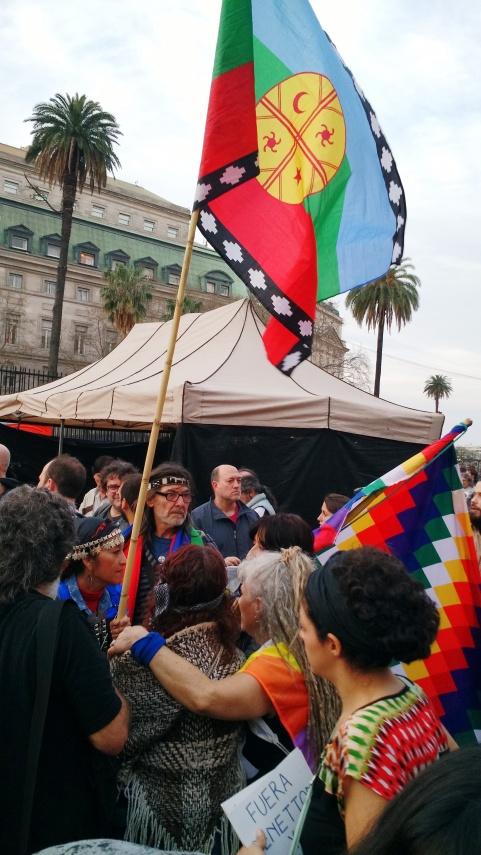 Llegan Mapuches