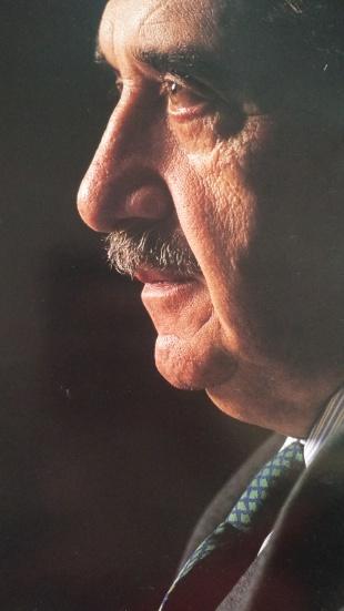 En 1994 José Luis le hizo este perfil cerrado al vasco de Chascomús.