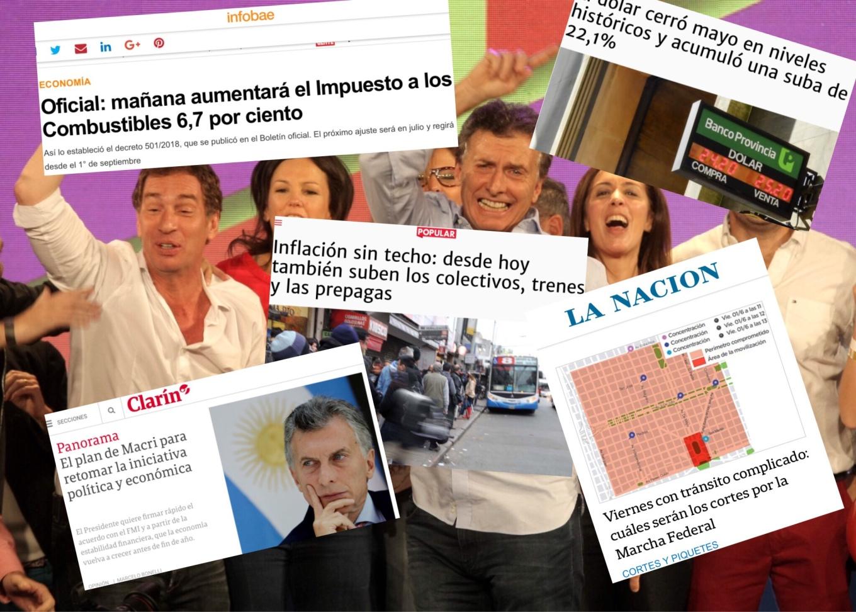 Macri noticias economía Argentina