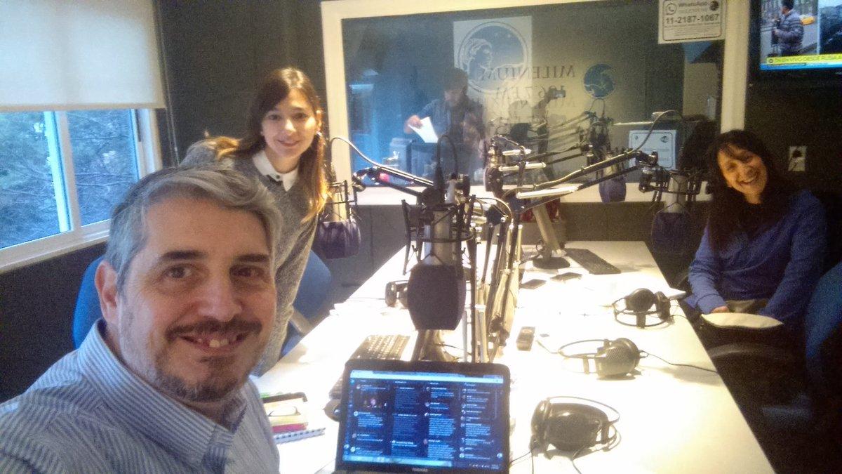 Mariano Rinaldi en Radio Milenium