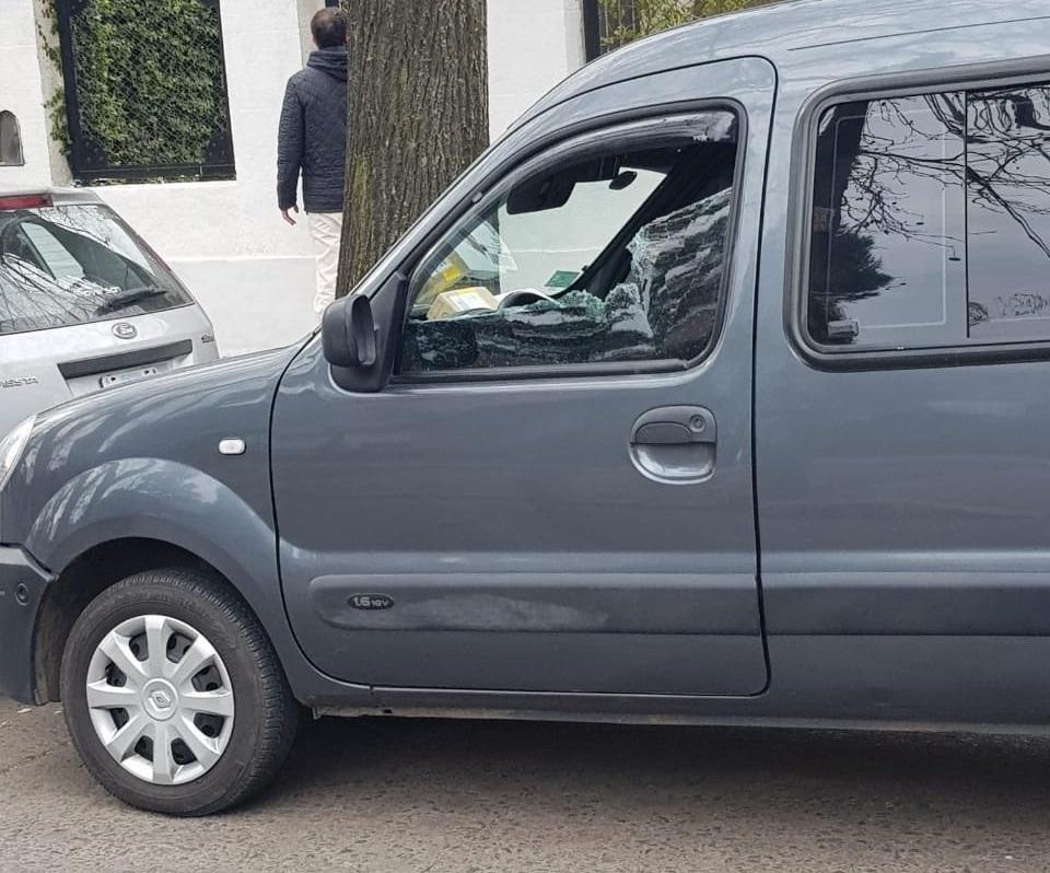 Auto del repartidor de Mercado Libre asesinado en Adrogué